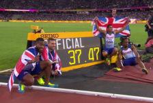 Λονδίνο 2017: Φινάλε με τραυματισμό ο Bolt – Θρίαμβος Βρετανών στην 4χ100μ. με ρεκορ Ευρώπης – 10ο χρυσό η Felix