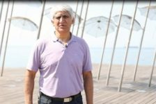 O Παναγιώτης Γιαννάκης πρεσβευτής του Τρέξε Χωρίς Τερματισμό της Θεσσαλονίκης