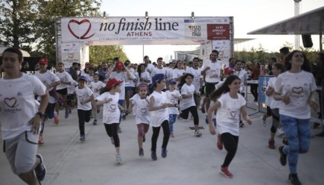 Ανοιξαν οι εγγραφές για τον 2ο Yπερμαραθώνιο No Finish Line Athens