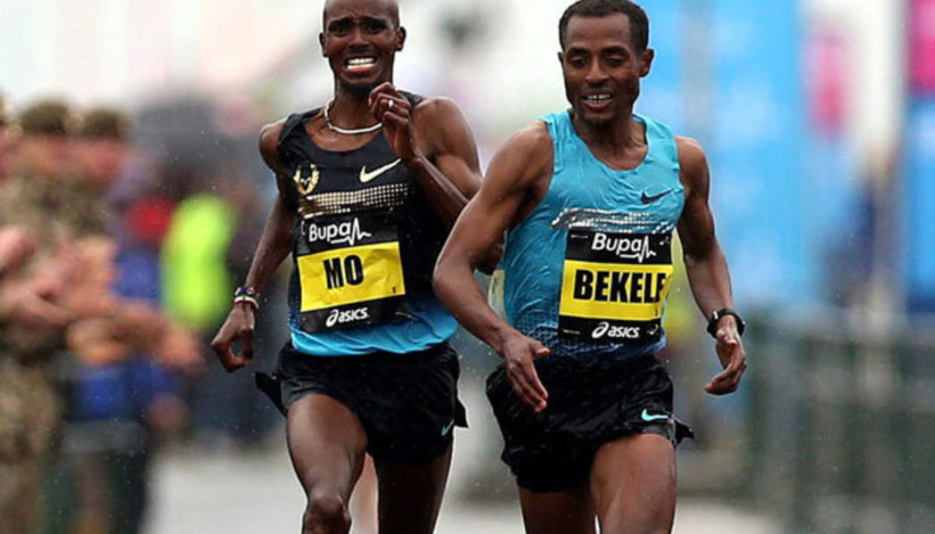Και ο Kenenisa Bekele στον London Marathon!