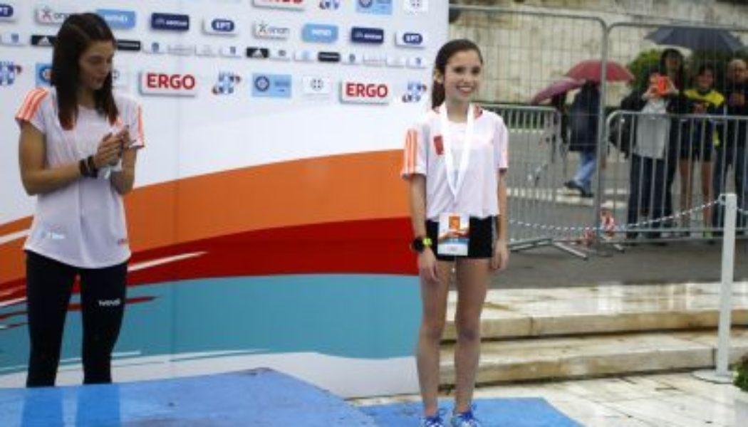 12χρονη τερμάτισε 3η στην κούρσα των 5 χιλιομέτρων του ΗΜΙ της Αθήνας