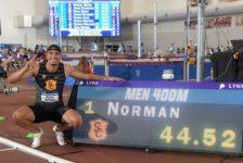 Παγκόσμιο ρεκόρ στα 400m κλειστού στίβου από τον Michael Norman