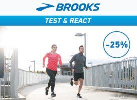 BROOKS Test & React