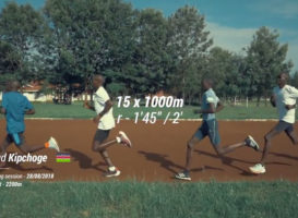 Eliud Kipchoge – 15x1000m πριν τον Berlin Marathon