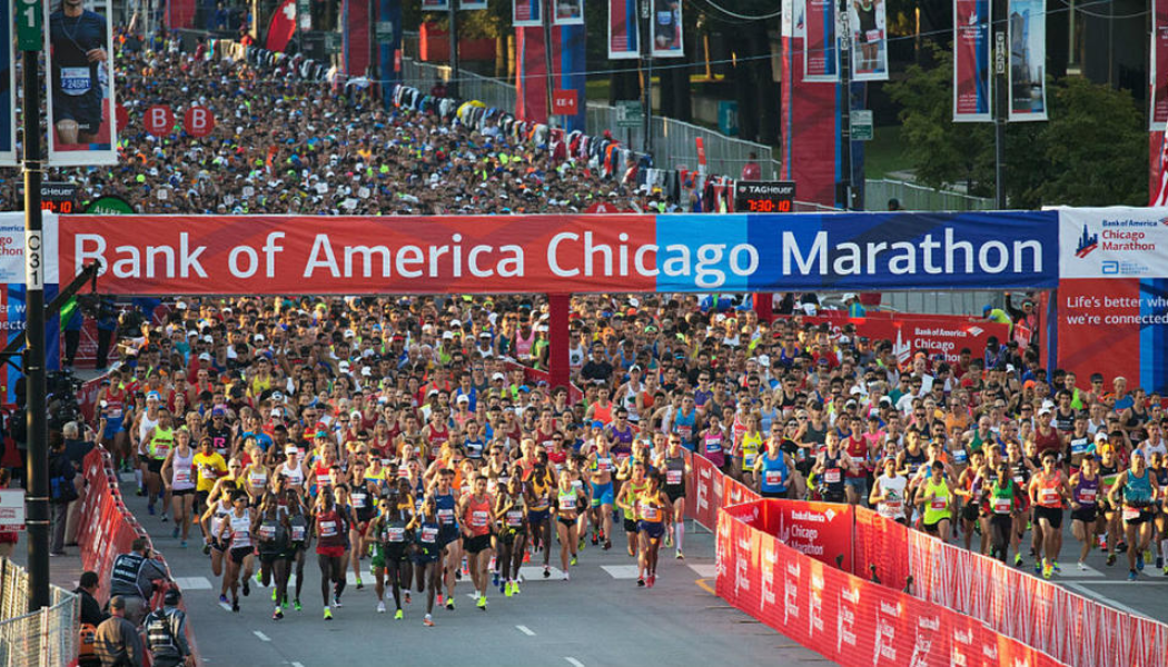Chicago Marathon,  7/10/2018
