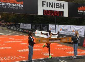 Παγκόσμιο ρεκόρ στον ημιμαραθώνιο ο Geoffrey Kamworor!