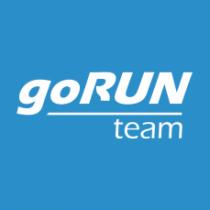 Λογότυπο της ομάδας του goRUN team